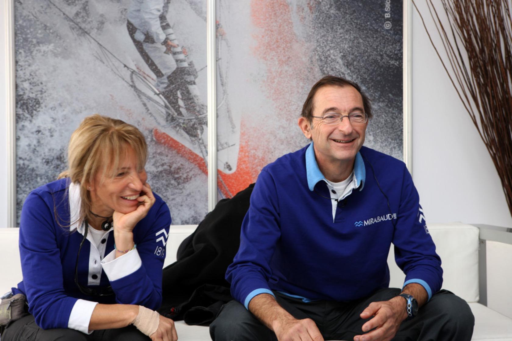 Michèle Paret et Dominique Wavre
