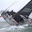 Gabart leads the Biscay speed test