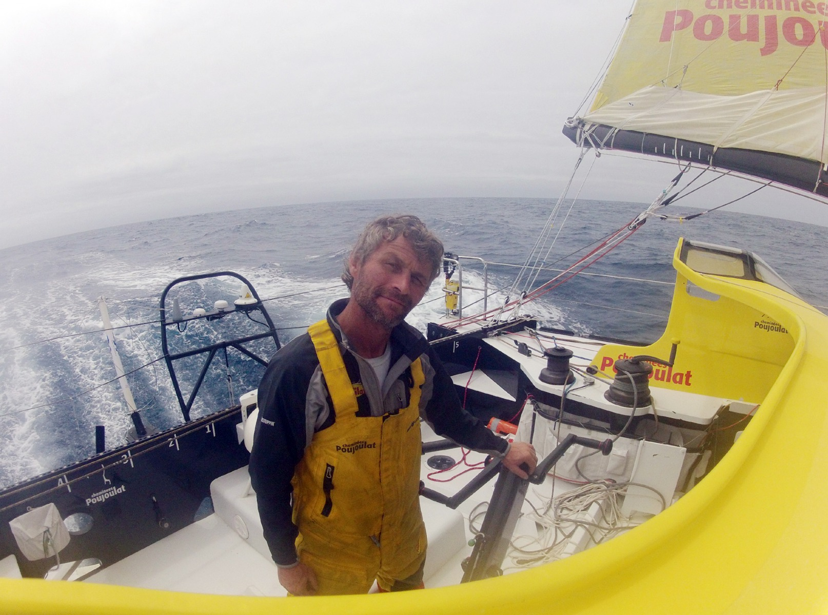 VENDEE GLOBE 2012/2013 - INDIAN OCEAN - 17/12/2012 - PHOTO BERNARD STAMM (SUI) / CHEMINEES POUJOULAT