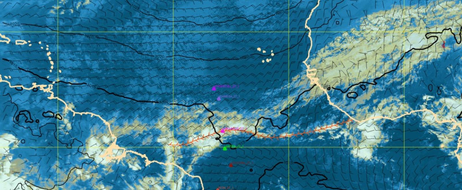 News Boletín Meteorológico Del 27 De Enero 2013 Vendée Globe En