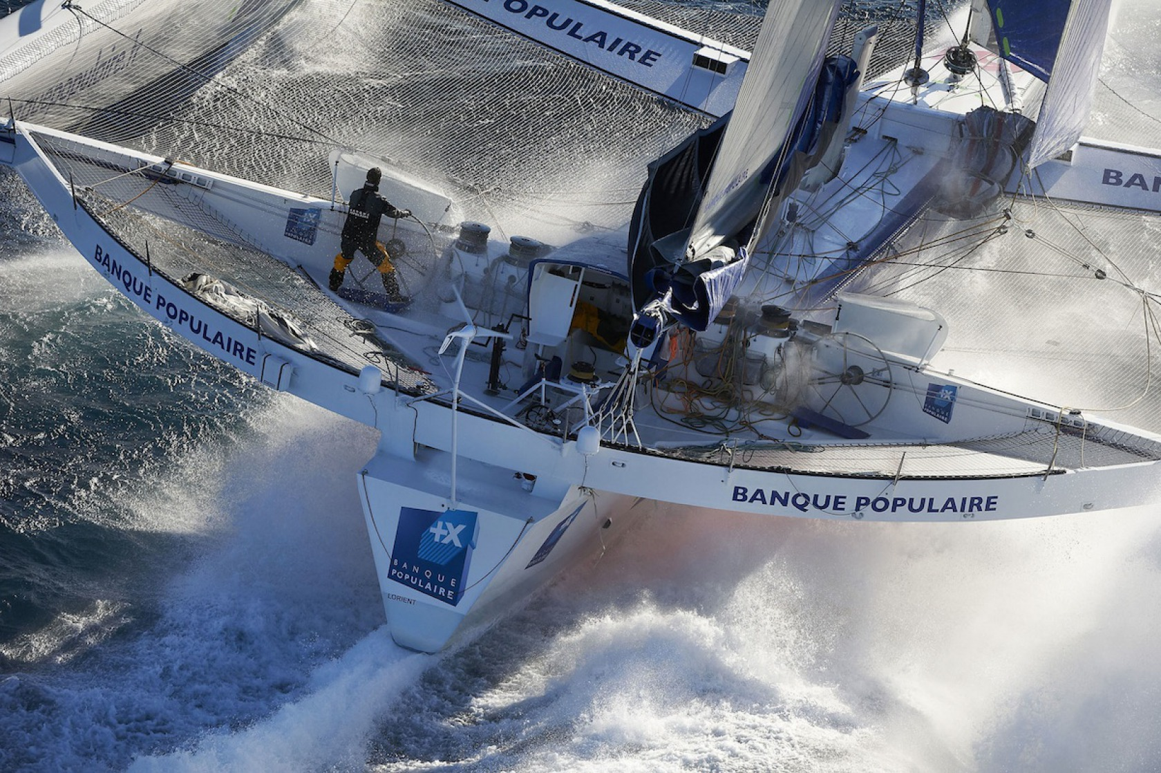 News armel le cl ac 39 h back to multihulls after the vend e globe vend e globe - Armel le cleac h banque populaire ...