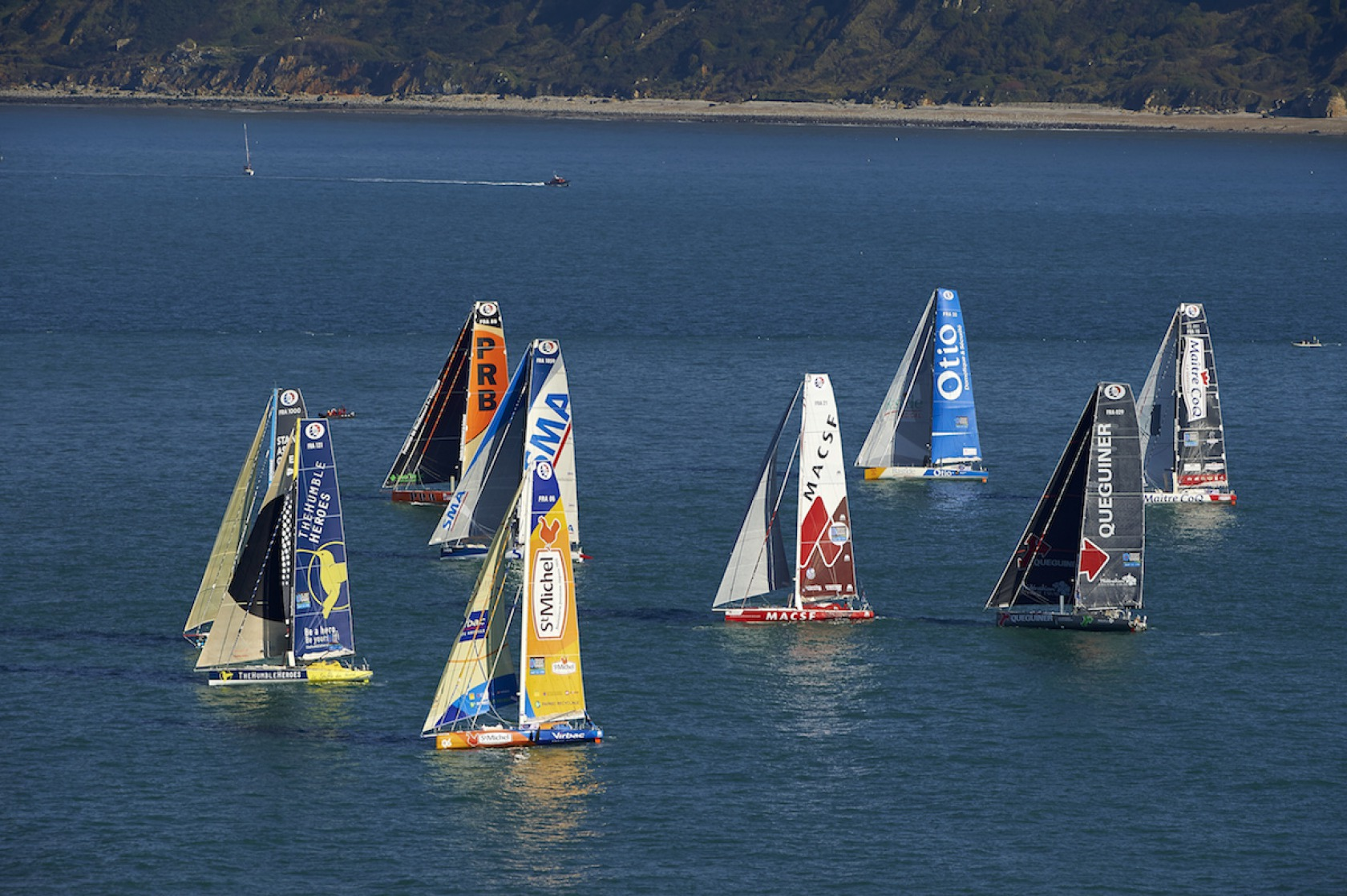 Start Transat Jacques Vabre 2015