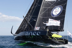 Arrival of NEW YORK-VENDEE (Les Sables d'Olonne), presented by Currency House & SpaceCode, (Single-Handed transatlantic sailing