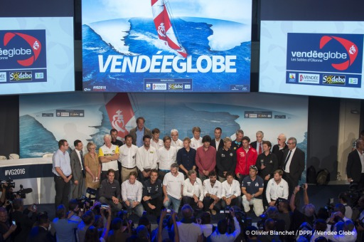 Ambiance during official launch of the Vendee Globe 2016 at Palais Brongniart in Paris, France, on september 14, 2016 - Photo Ol