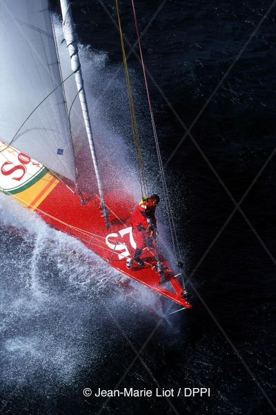 SAILING - VENDEE GLOBE 2000/2001 - PRESENTATION SET - PHOTO: JEAN-MARIE LIOT/DPPI THOMAS COVILLE (FRA) - SODEBO