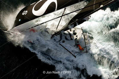 SAILING - VENDEE GLOBE 2004-2005 - MONO 60 - PHOTO : JON NASH/ DPPI HUGO BOSS / SKIPPER : ALEX THOMSON (UK) - NOT FOR UK