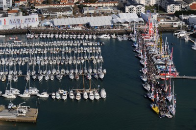 SAILING - ROUND THE WORLD RACE - VENDEE GLOBE 2008/2009 - LES SABLES D'OLONNE (FRA) - 06/11/08 