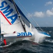 SMA removing the foil for the double-handed transatlantic race