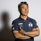Skipper's studio with Kojiro Shiraishi (JAP), skipper Spirit of Yukoh, during official launch of the Vendee Globe 2016 at Palais Brongniart in Paris, France, on september 14, 2016 - Photo Vincent Curutchet / DPPI