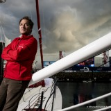 Bertrand de Broc (FRA), skipper MACSF, portraited during prestart of the Vendee Globe, in Les Sables d'Olonne, France, on October 21st, 2016 - Photo Vincent Curutchet / DPPI / Vendee GlobePortrait de Bertrand de Broc (FRA), skipper MACSF, aux Sables d'O