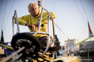 Ambiance shots of No Way Back, skipper Pieter Heerema (NL), on pontoons of the Vendee Globe, in Les Sables d'Olonne, France on October 31st, 2016 - Photo Vincent Curutchet / DPPI / Vendée GlobeAmbiances de No Way Back, skipper Pieter Heerema (NL) sur le