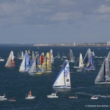 Start of the Vendee Globe, in Les Sables d'Olonne, France, on November 6th, 2016 - Photo Vincent Curutchet / DPPI Départ du Vendée Globe, aux Sables d'Olonne le 6 Novembre 2016 - Photo Vincent Curutchet / DPPI