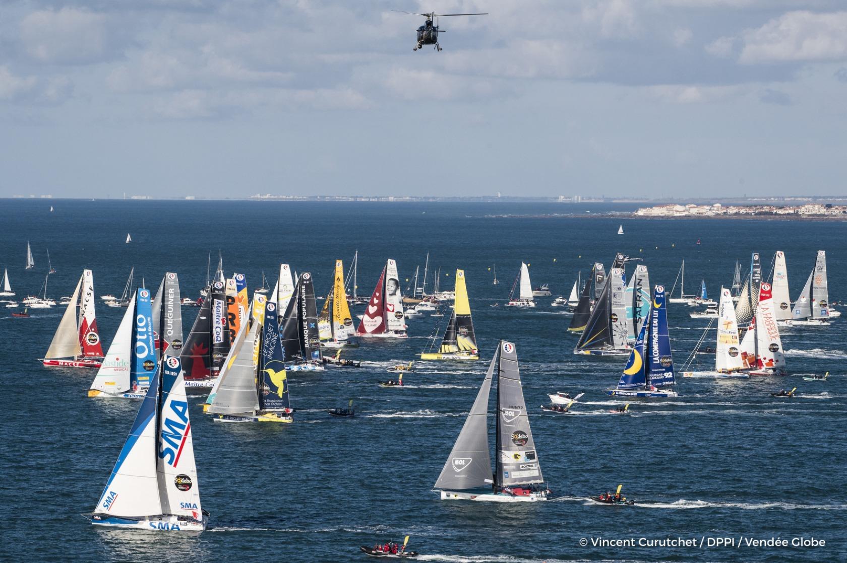 News - The emotion of a departure - Vendée Globe