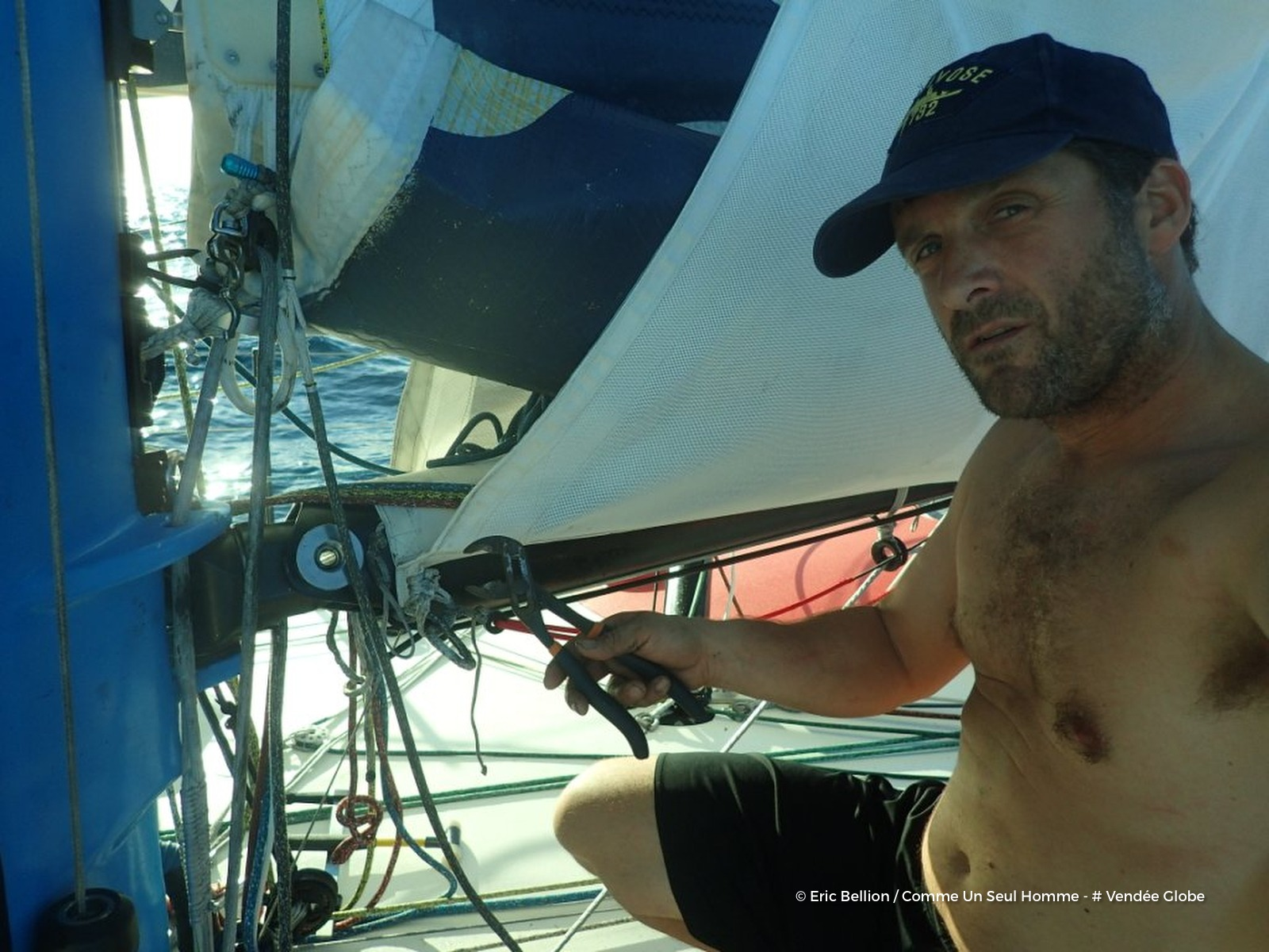 News Relief For Eric Bellion Vendée Globe