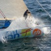 Sébastien Destremau making good speed towards the Bay of Biscay