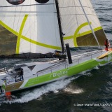 Kilcullen Voyager - Team Ireland, skipper Enda O'Coineen (IRL) at start of the Vendee Globe, in Les Sables d'Olonne, France, on November 6th, 2016 - Photo Jean-Marie Liot / DPPI / Vendee GlobeKilcullen Voyager - Team Ireland, skipper Enda O'Coineen (IRL