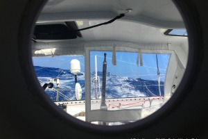 Photo sent from the boat No Way Back, on December 2nd, 2016 - Photo Pieter HeeremaPhoto envoyée depuis le bateau No Way Back le 2  Décembre 2016 - Photo Pieter HeeremaDream sailing