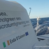 Photo sent from the boat Kilcullen Voyager - Team Ireland, on December 5th, 2016 - Photo Enda O'CoineenPhoto envoyée depuis le bateau Kilcullen Voyager - Team Ireland le 5 Décembre 2016 - Photo Enda O'CoineenDay 29/28------- ITS relentless,  Constan