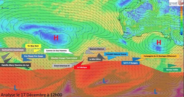 Weather Analysis Indian Ocean December 17th 2016