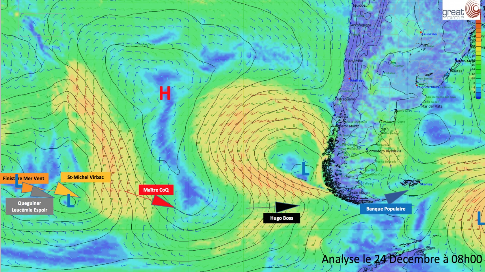 Weather Analysis December 24th 2016 - Leaders