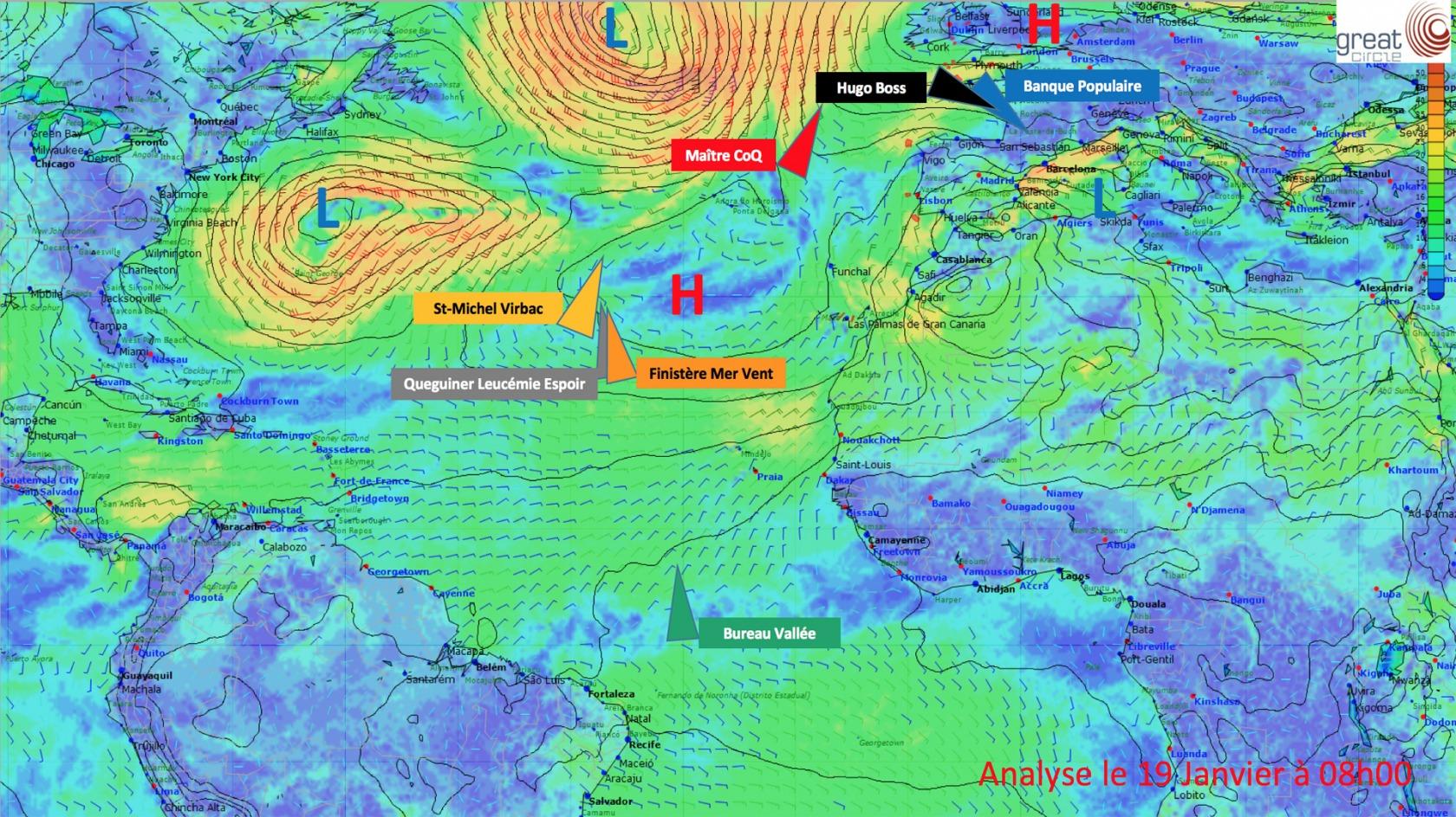 News The North Atlantic Headache Vendée Globe
