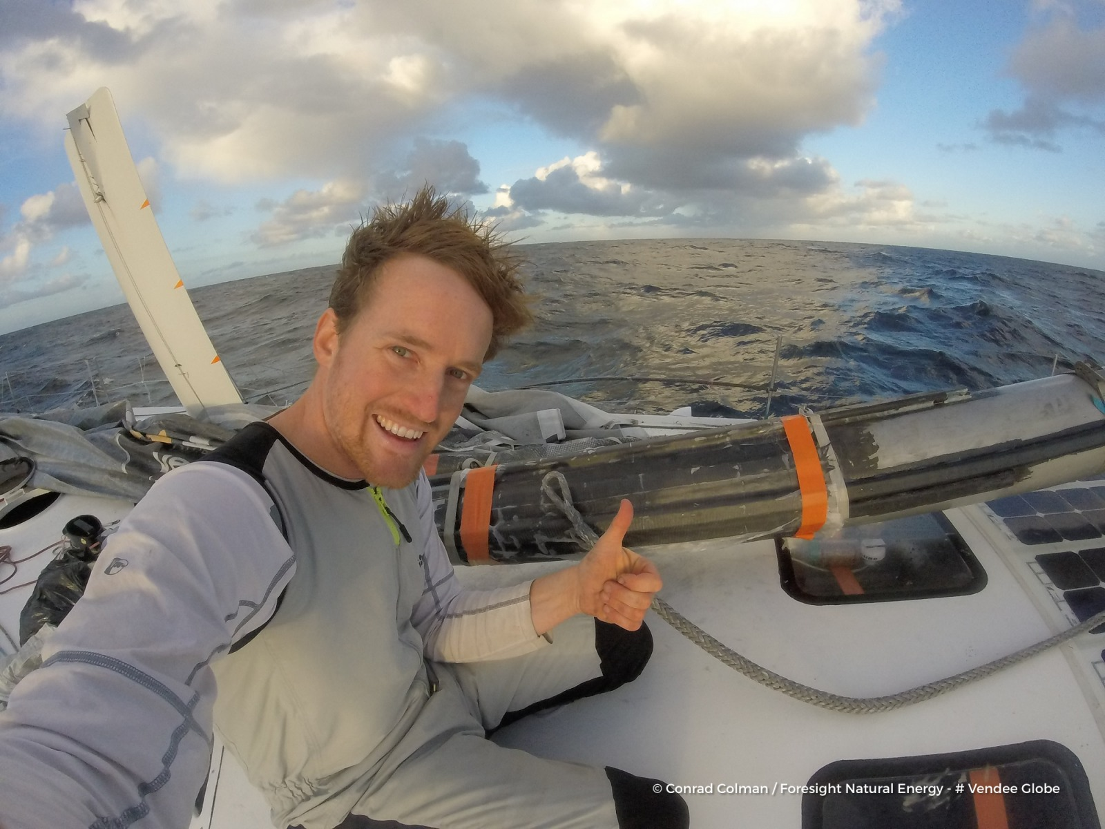 Arnaud Boissières complète le top 10 du Vendée Globe