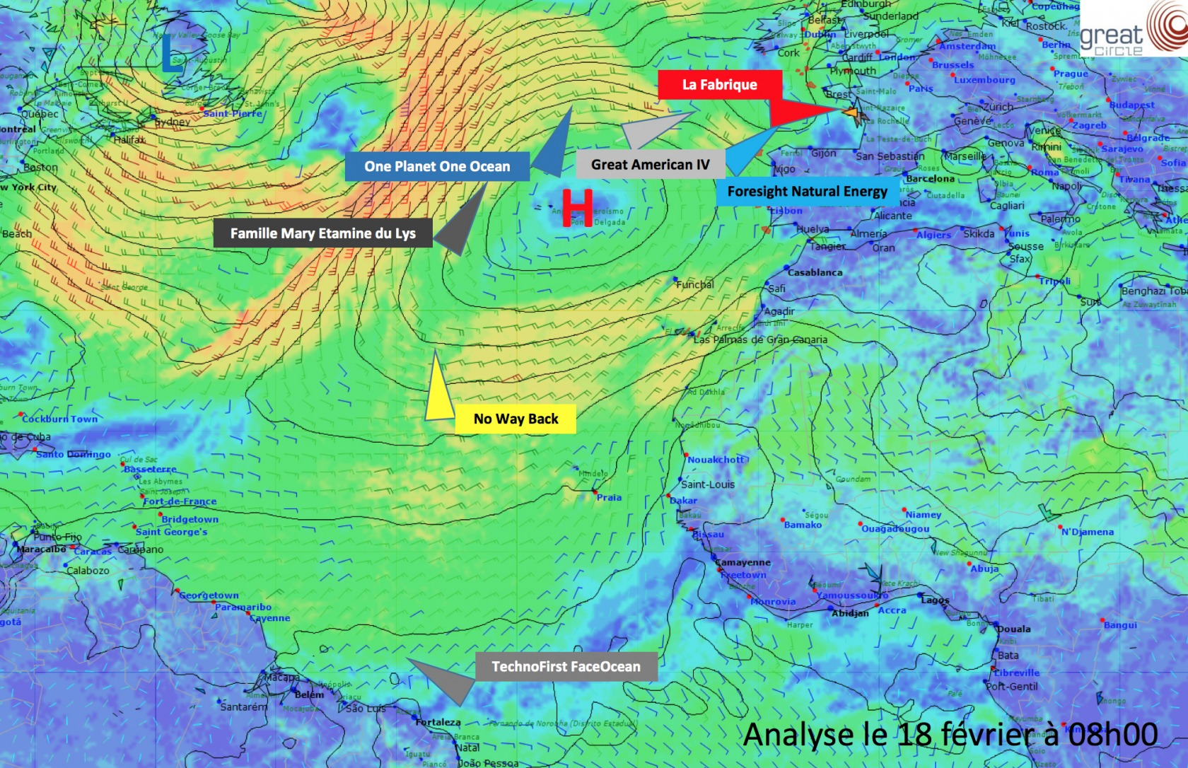 Weather Analysis February 18th 2017