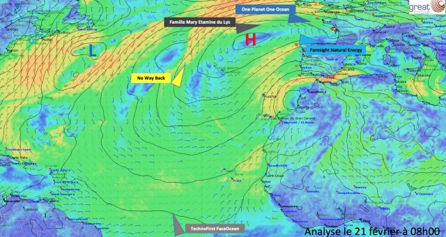 Weather analysis February 21st 2017