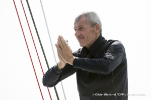 Ambiance channel during Finish arrival of Sebastien Destremau (FRA), skipper Technofirst Face Ocean,18th of the sailing circumnavigation solo race Vendee Globe, in Les Sables d'Olonne, France, on March 10th, 2017 - Photo Olivier Blanchet / DPPI / Vendee GlobeArrivée de Sebastien Destremau (FRA), skipper Technofirst Face Ocean, 18ème du Vendee Globe, aux Sables d'Olonne, France, le 10 Mars 2017 -