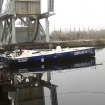Stéphane Le Diraison's boat back in France