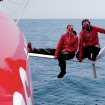 Seven Imoca60s tackling the Fastnet Race