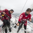 Paul Meilhat and Gwénolé Gahinet have won the Rolex Fastnet Race in the IMOCA category