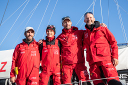 (Actualité) - Back to Earth. French Astronomer Thomas Pesquet Sails the Atlantic on an IMOCA.