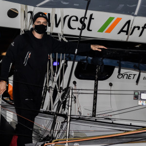 Fabrice Amedeo is back at Port Olona after a hook problem