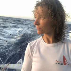 Isabelle Joschke in 15th position on this 15th day of the Vendée Globe