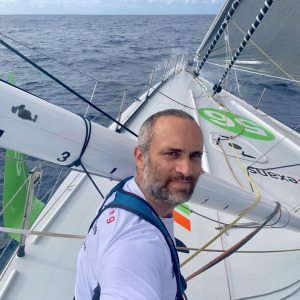 Fabrice Amedeo is moving rapidly along the Brazilian coasts