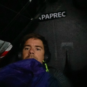 Warm rest for Sébastien Simon