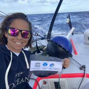 Alexia Barrier ready to drop her weather buoy