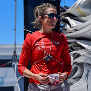 End of the Vendée Globe for Sam Davies