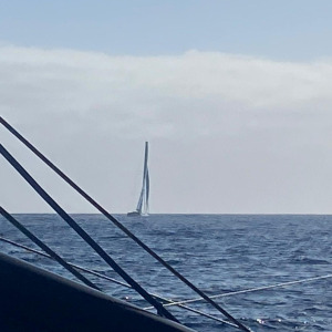 Time For Oceans, skipper Stephane Le Diraison, in sight onboard La Mie Caline - Artisans Artipole