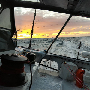 Pretty sunset onboard APICIL Group