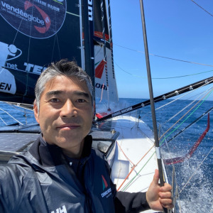 Kojiro could be the first Asian skipper to finish a Vendée Globe, but there are still a lot of milles to go ...