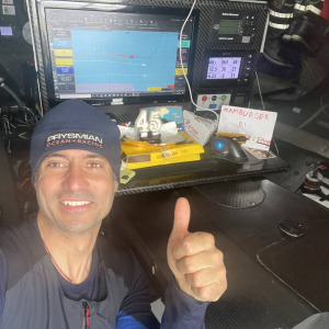 We wish a happy birthday to Giancarlo Pedote who celebrates his 45th birthday during this Vendée Globe