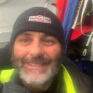 Yannick Bestaven is happy and is heading towards Cape Horn