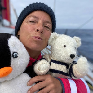 Alexia Barrier and her teddy bears embrace you from the South Seas
