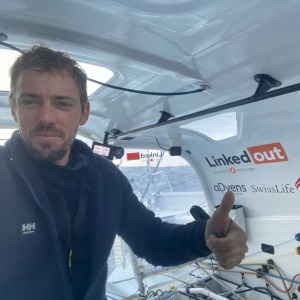 For his passage of Cape Horn Thomas Ruyant has gained more than 100 miles on the leader.