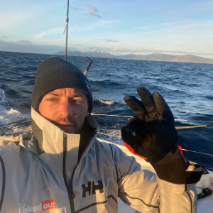 Thomas Ruyant passed Cape Horn in 3rd position