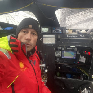 600nm from Cape Horn and arduous conditions for Armel Tripon