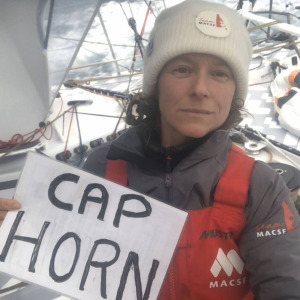 Isabelle is the first woman to pass Cape Horn in this 9th edition