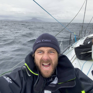It was hard but he did it! Stéphane Le Diraison passed Cape Horn after 65d 23h 43min of sailing